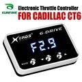 Автомобильный электронный контроллер дроссельной заслонки гоночный ускоритель мощный усилитель для CADILLAC CT6 Тюнинг Запчасти аксессуар