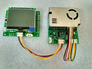Image 3 - Tester 7 in One sensor module with screen PM2.5 PM10 temperature and humidity C02 formaldehyde TVOC