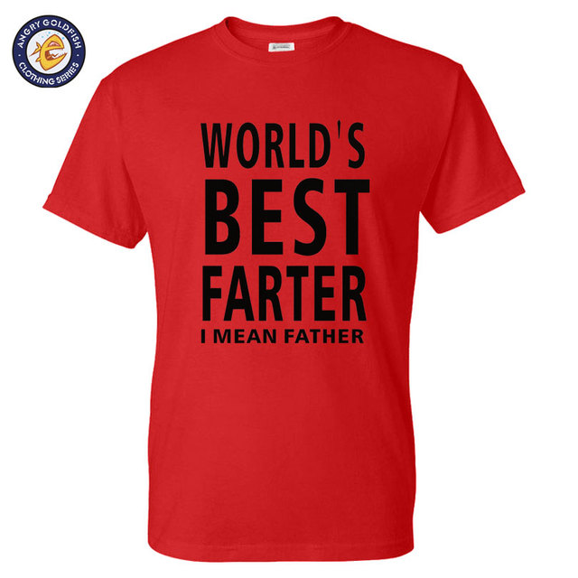 worlds best farter i mean father funny christmas gift for dad short sleeve o - Best Dad Christmas Gifts