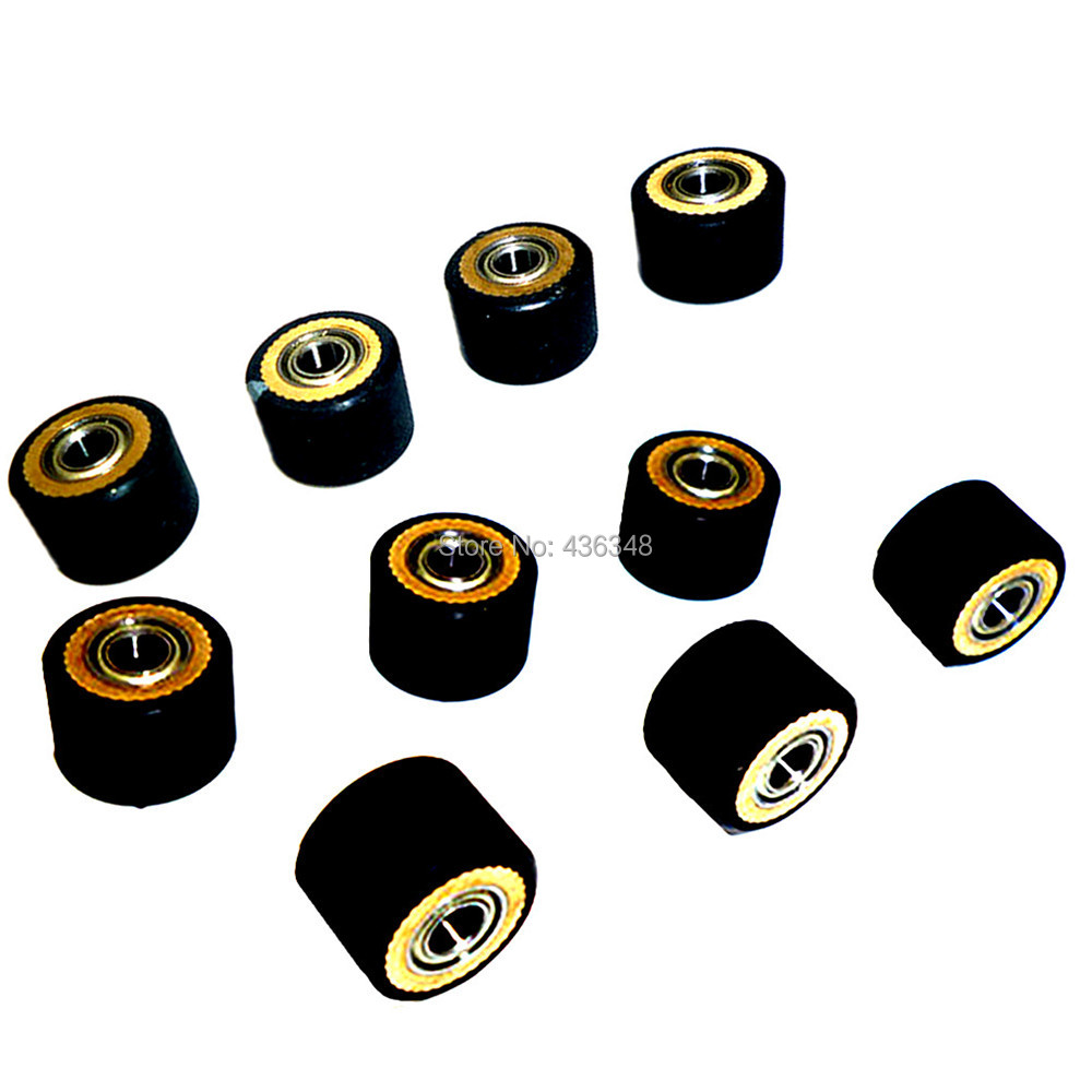 1/2/3/4/5/6/10pcs Pinch Roller Paper Pressing Wheel Roller 4mmx10mmx14mm For Roland Vinyl Plotter Wheel Bearing Outside Dia 14mm Power Tool Accessories