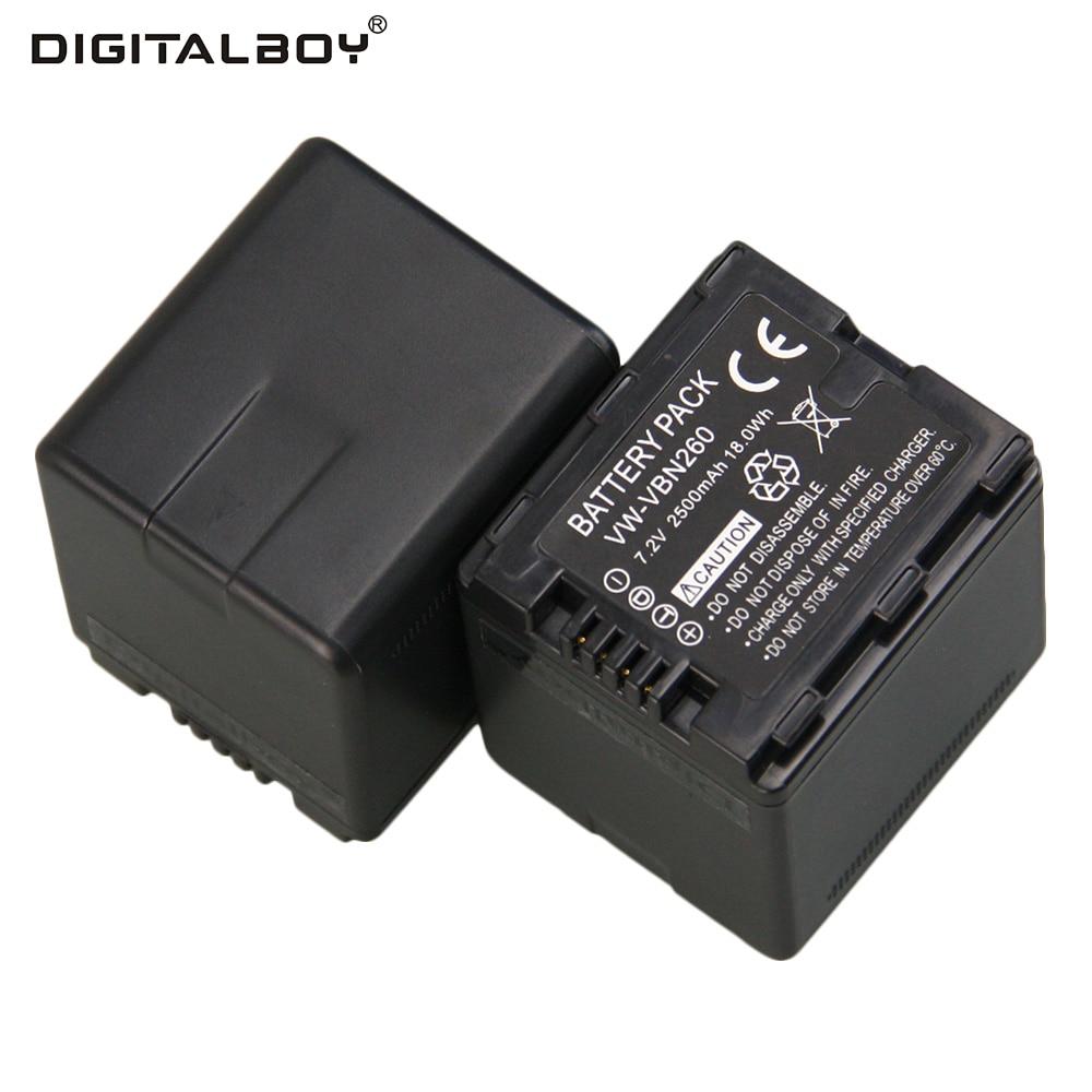 Hot 72 v 2 pcs bateria vw vbn260 vw vbn260 vw vbn260 bateria hot 72 v 2 pcs bateria vw vbn260 vw vbn260 vw vbn260 bateria recarregvel para cmera digital para panasonic hdc tm900 hdc sd900 fandeluxe Gallery