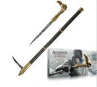Assassins Creed 6 Syndicate Gauntlet met Verborgen Blade Phantom Replica Zwaard Riet Cosplay PVC Wapens 1:1 De rekwisieten