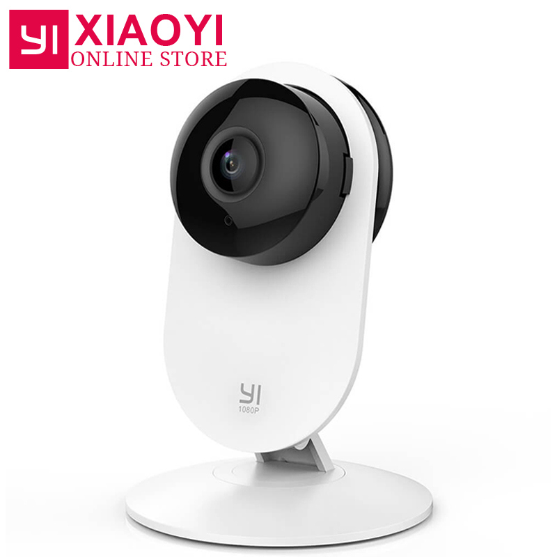 [Internation Edition]YI 1080p Home Camera Wireless WIFI IP Camera Xiaomi YI Security Mini Surveillance System 3D Noise Reduction wireless smoke fire detector for wireless for touch keypad panel wifi gsm home security burglar voice alarm system