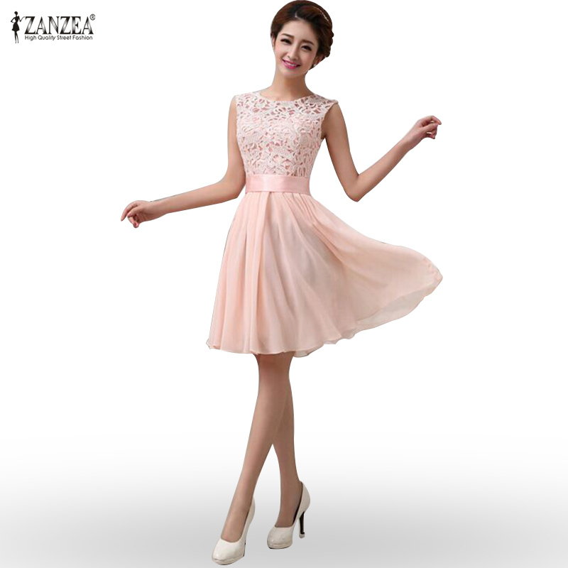 Online Get Cheap Chiffon Knee Length Dresses -Aliexpress.com ...