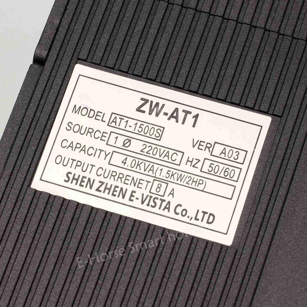 VFD 1.5KW/2.2KW/4KW CoolClassic VFD inversor convertidor de frecuencia inversor de frecuencia para motor ZW-AT1 3 P 220 V salida wcj5. - 3