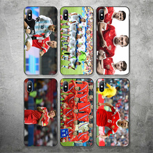 Yinuoda Russian football Team Denis Cheryshev Phone Case DIY Picture Soft TPU Cover For iPhone X XR XS MAX 7 8 7plus 6 6S 5S 5SE