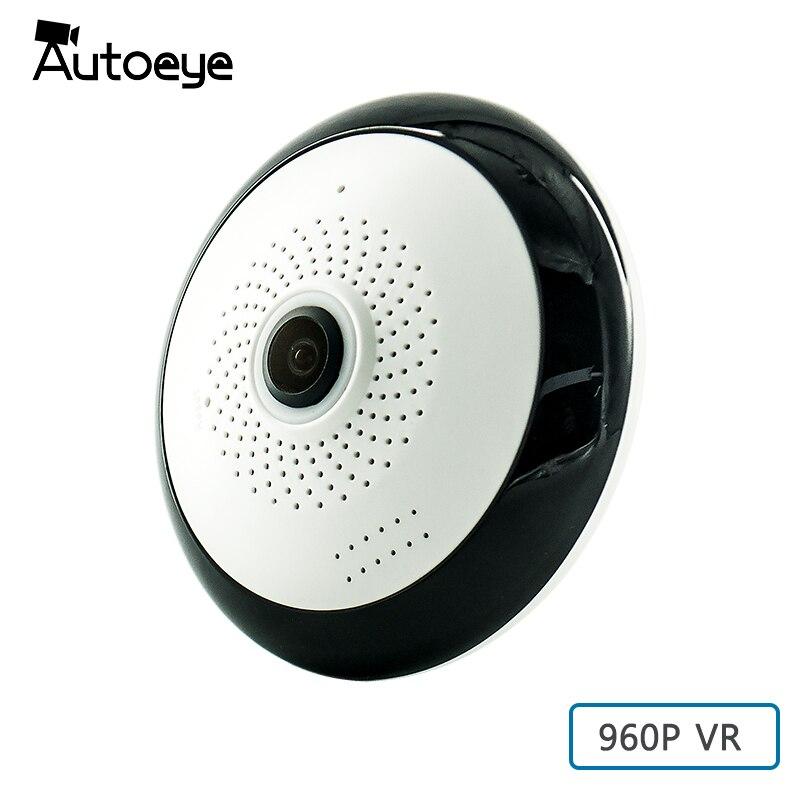 Autoeye Fisheye VR IP Camera 960P 1 3MP 360 Degree Baby Monitor 3D Panoramic Wifi CCTV