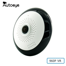 Autoeye Fisheye VR IP Camera 960P 1.3MP 360 Degree Baby Monitor 3D Panoramic Wifi CCTV Camera Home Security WiFi Camera