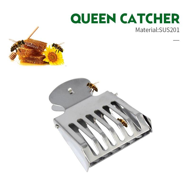 Brand 2PCS Queen Catcher Beekeeping Queen Bee Catcher Cage Stainless Steel Bee Catcher Clip Durable Material Beekeeper Tools