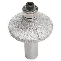 1/2inch Diamond Router Bit Wheel Half Bullnose For Hand Profiler Marble Granite Hand Tool Sets     -
