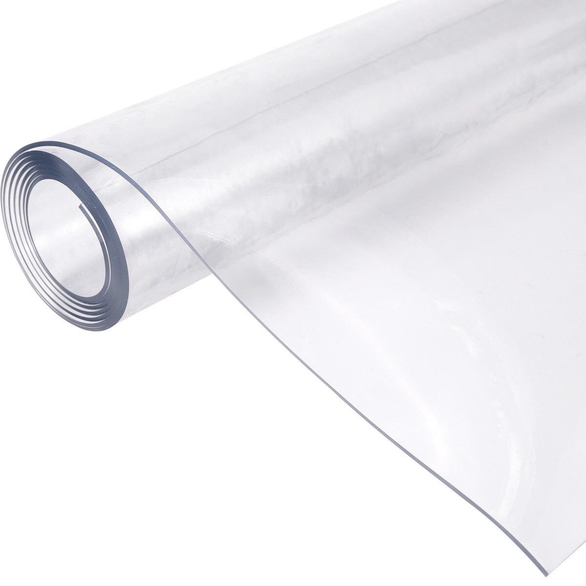1 мм 90*160 см ПВХ прозрачный мягкий хрусталя плиты индивидуальные пластиковые ПВХ скате ...