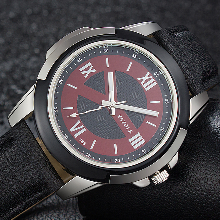 YAZOLE Wrist Watch Men Top Brand Luxury Famous Male Clock Quartz Watch Retro Hodinky Quartz-watch Relogio Masculino YZL383 yazole new watch men top brand luxury famous male clock wrist watches waterproof small seconds quartz watch relogio masculino