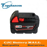 High Quality New 18V 4 0Li Ion 4000mAh Replacement Power Tool Battery For Milwaukee M18 XC