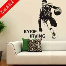 Boston celtics Kyrie Irving Wall Sticker basketball player Decal Home Decoration Art Murals