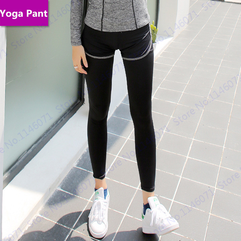 Stretchy Slimming Yoga Leggings Sexy Skinny Fitness Gym Trousers Pantyhose Elastic -2056