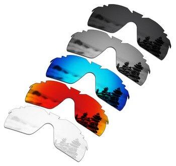 SmartVLT 5 Pieces Polarized Sunglasses Replacement Lenses for Oakley Radarlock XL Vented - 5 Colors