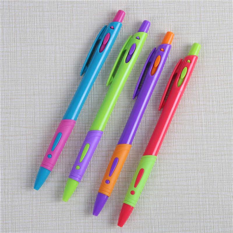 10 ชิ้น/ล็อตน่ารักปากกาลูกลื่น 0.7 มม. ปากกาสำนักงานหมึกสีฟ้าอุปกรณ์เสริมวัสดุ Escolar เขียน Supply Mark ปากกาเครื่องเขียน