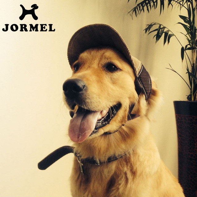 8dab91b095d JORMEL Pet Dog Outdoor Baseball Cap Hat With Ear Holes Canvas Small Dog Cap  Hat Summer Accessories Hiking