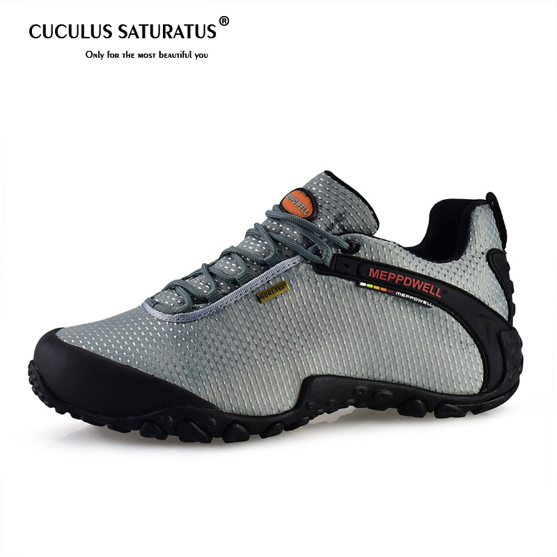 Brand Men Hiking Shoes Suede Climbing Boots Breathable Outdoor Sports Trekking Sneakers Free Shipping 224 6