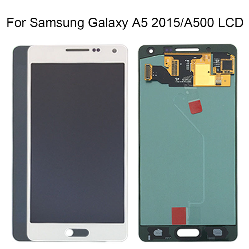 Tested Working Super AMOLED LCD Display For Samsung Galaxy A5 2015 A500 A500H A500M A500F Touch