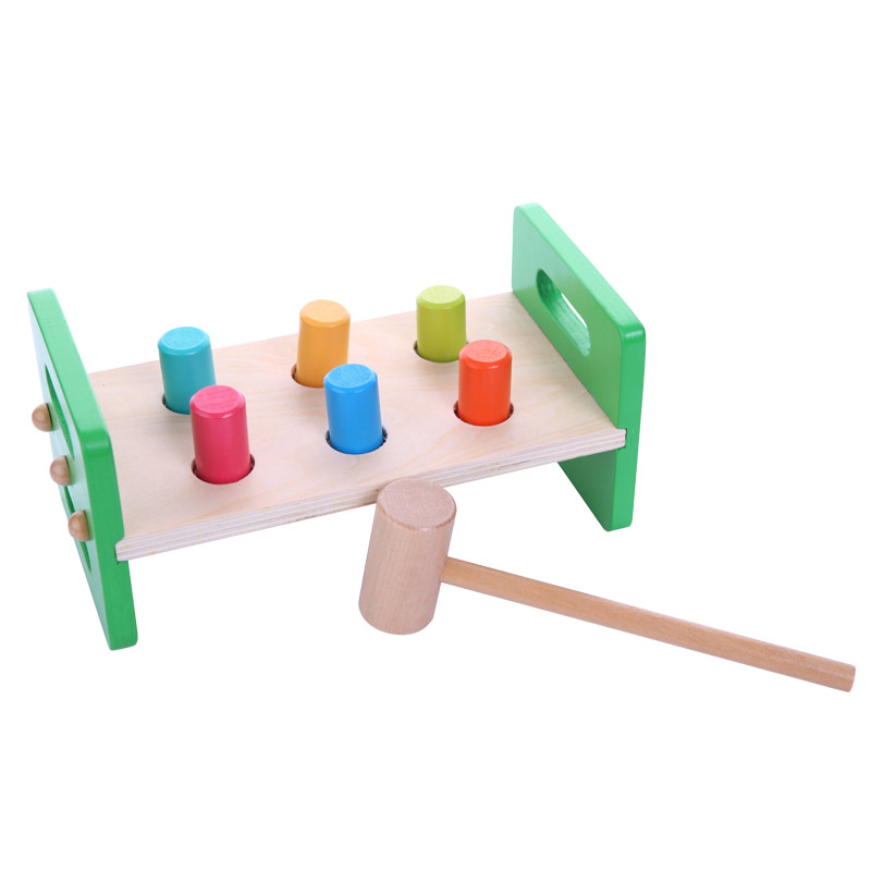 Baby-toys-Wooden-Knocks-pillar-Platform-wood-toys-Hammering-Children-Early-Learning-Educational-Toys-Brand-free-shipping-1