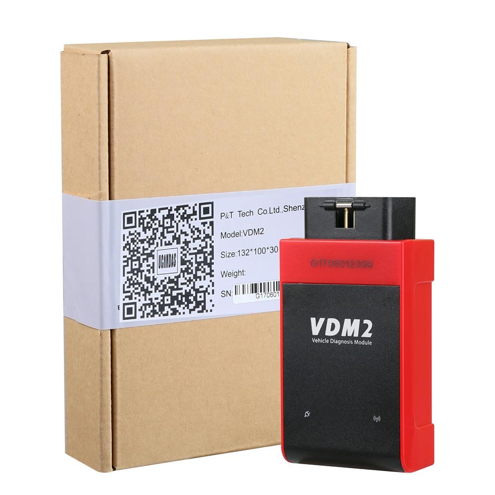 Image 4 - UCANDAS VDM2 VDM II UCANDAS WIFI Car Automotive Scanner VDM 2 V5.2 Support Multi Language and Android System Free shipping on