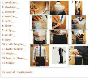 Image 5 - Real Photo Double Breasted Shawl Lapel Nvay Velvet Wedding Groom Tuxedos Men Party Blazer Prom Business Suits (Jacket+Pants+Bow