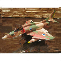 3D Paper Model 1:32 American A 4 Skyhawk Attack Model Diecast Fighter Scale Model Manual DIY Aircraft Military Fans Collection