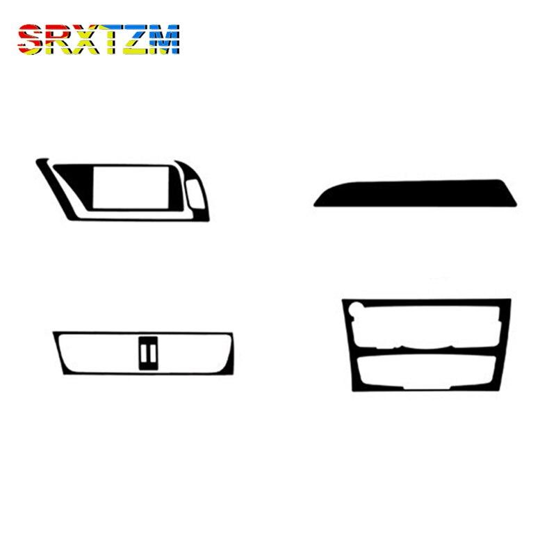 SRXTZM Carbon Fiber Car Interior Navigation Central