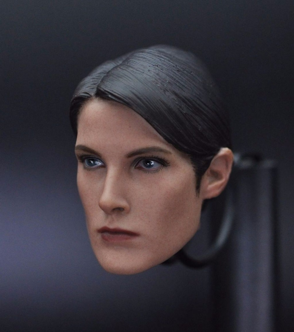 1/6 Scale Maria Hill Head Sculpt The Avengers Fit Female 12 inches Action Figures