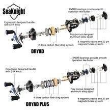 SeaKnight DRYAD /PLUS Anti-corrosion Baitcasting Reel 7.6:1 7.0:1 High Speed 12BB Fishing Reel Fishing Tackle Saltwater Fishing
