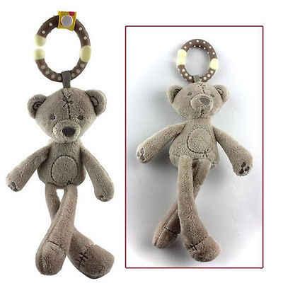 Детские животные мягкие погремушки кровать прогулочная коляска музыка висячий колокольчик кукла игрушка