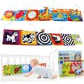 Retail Baby Toys Baby cloth book knowledge around multi-touch multifunction fun and colorful Bed Bumper