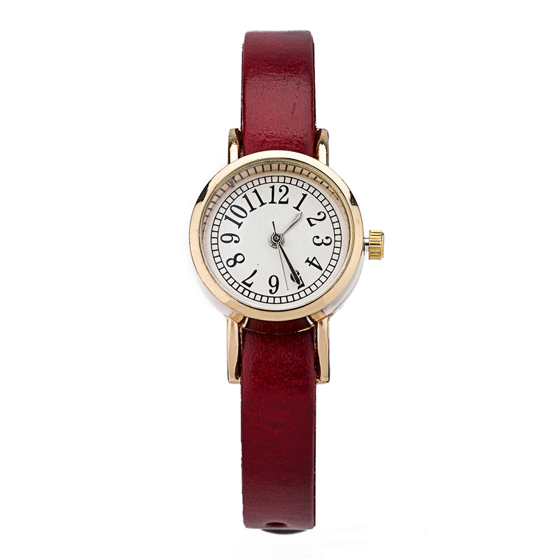 Retro Vintage Elegant Quartz watch Watches Women Casual ...