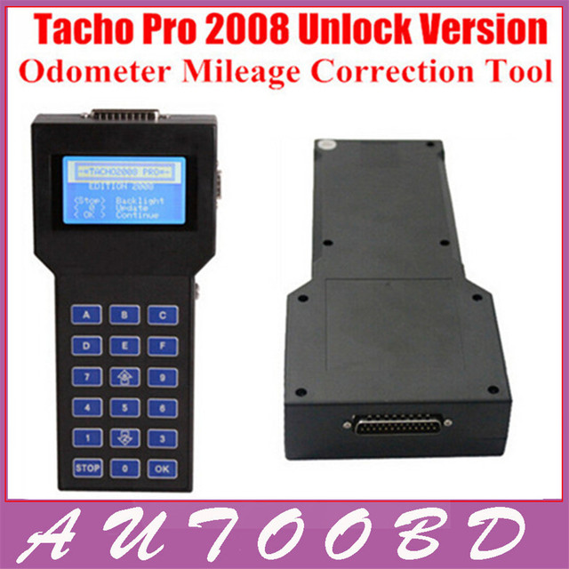 2016 Unlock Version Odometer Correction Universal Dash Programmer Super TACHO PRO 2008 Mileage Correction Tool Free Shipping
