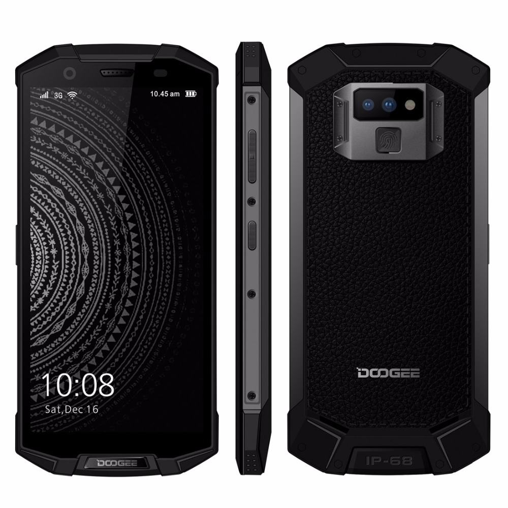 "DOOGEE S70 Lite IP68 Waterproof Mobile Phone Android 8.1 5.99"" FHD+ Helio P23 Octa Core 4GB 64GB 12.0MP Dual Camera Smartphone"