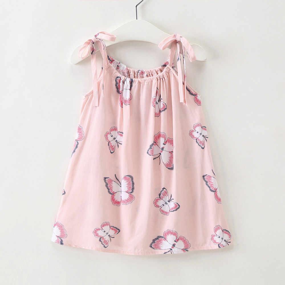 6ce725c9b59b MUQGEW 2018 Hot Sale Baby Cartoon Girls Toddler Strap Sundress Casual  Princess Outfit Clothes Dress Dropshipping