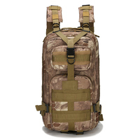 30L Outdoor Military Tactical Backpack Molle Bag Army Sport Rucksack Climbing Camping Trekking Storage Camouflage Bag BP0272