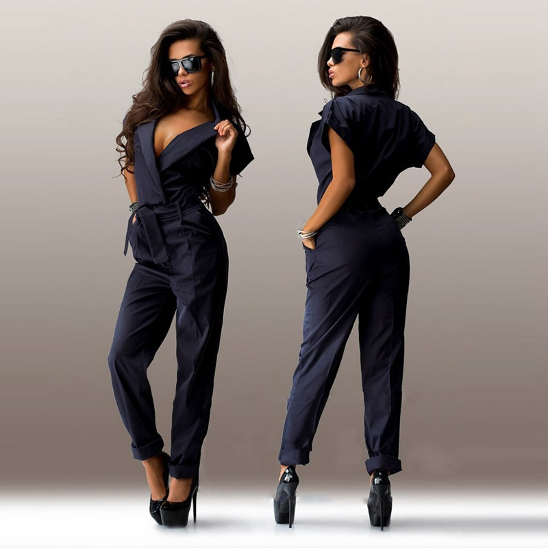eb0e76c895c3 new year Overalls for women casual elegant rompers womens jumpsuit female plus  size combinaison femme monos largos de mujer 2016-in Jumpsuits from Women s  ...