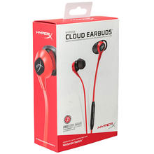 New Arrival 2018 HyperX Cloud Earbuds Outdoor Games Portable Earphone Perfect Sound with Mic for Nintendo Switch & Mobile Gaming(China)