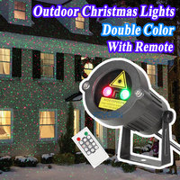 Outdoor Garden Decoration Waterproof IP44 Christmas Laser Light Star Projector Showers Red Green Static Twinkle With