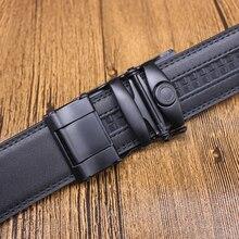Fine Automatic Buckle Leather Belt