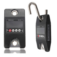 Mini Heavy Duty Electronic Digital Hook Hanging Crane Scale 300KG 0 1kg Industrial Weighing Scales LED