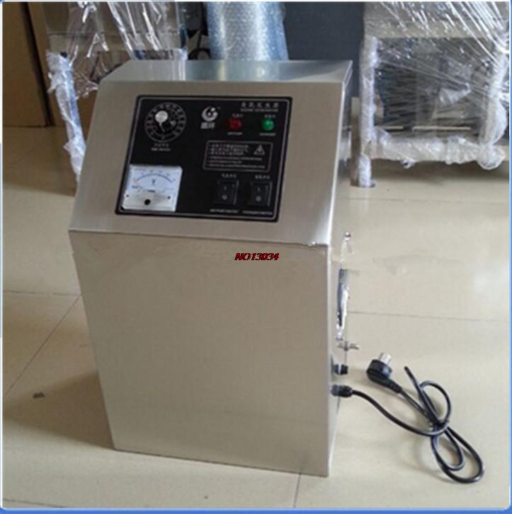 Free shipping 3G -5G mineral water treatment ozone generator small custom air purifier ozone disinfection machine