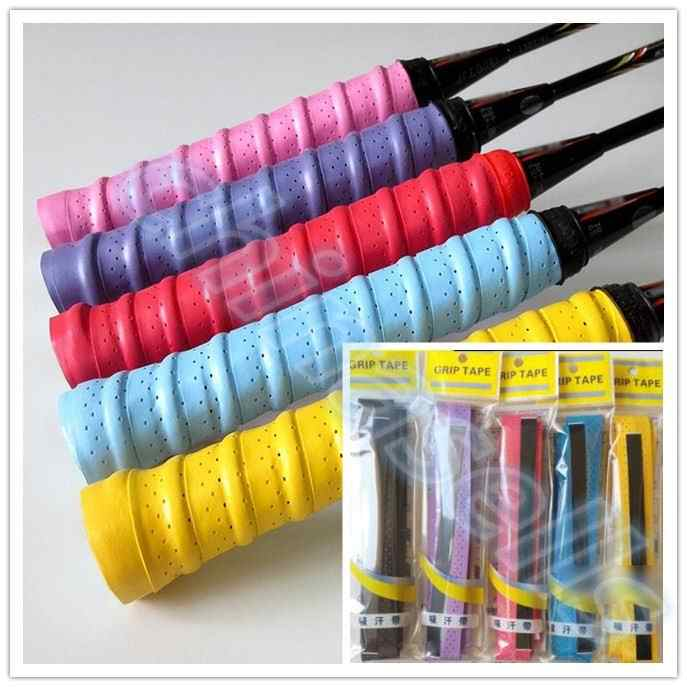 Tennis Racket Overgrips Anti-skid Sweat tape Absorbed Wraps Badminton Racquet OverGrip Fishing Tenis Skidproof Sweat Band grip