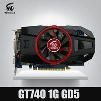Nvidia Geforce Video Card GTX740 1GB GDDR5 128BIT Stronger Than GT730 GT640