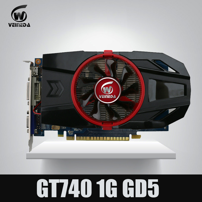 Geforce Chipset Video Graphic Card GT740 1GB GDDR5 128BIT Stronger Than GT730, GT640