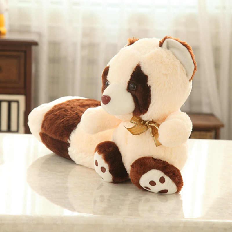 Милый длинный хвост плюшевая игрушка енот малыш Playmate мягкие животные мягкая кукла диван подушка задняя подушка детская мультяшная Подушка девочка подарки