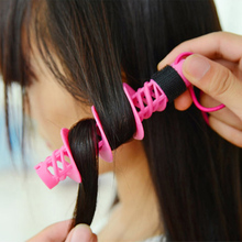 2pcsNew Big Wave Curls Rollers Curl Hair Bendy Rollers DIY Magic Hair Curlers Tool Styling Rollers Sponge Hair Curling 12pcs magic sponge foam cushion hair styling rollers curlers twist tool salon pink