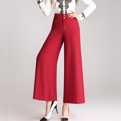 New arrival women's handsome casual slim high waist formal OL   wide     leg     pants